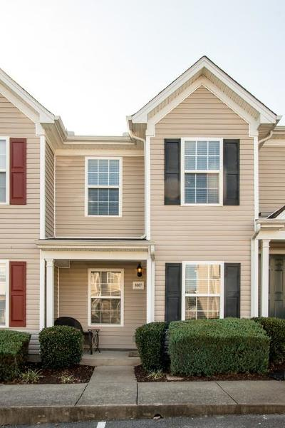 Lavergne Condo/Townhouse Under Contract - Showing: 8007 Logan Dr