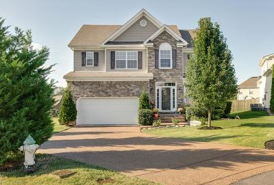 Spring Hill Single Family Home Under Contract - Showing: 3110 Cathey Ct