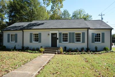 Murfreesboro Single Family Home Under Contract - Not Showing: 121 Gayle Ln