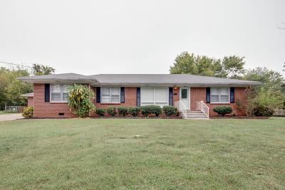 Murfreesboro TN Single Family Home Under Contract - Showing: $209,000