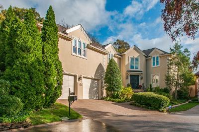 Nashville Single Family Home For Sale: 610 Green Park