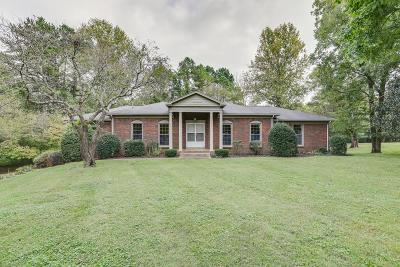Brentwood Single Family Home Under Contract - Showing: 8011 Knoll Ct