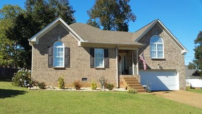 Mount Juliet Single Family Home For Sale: 606 Parrish Woods