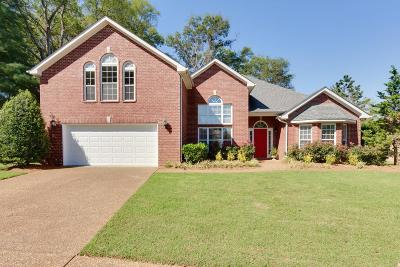 Franklin Single Family Home Under Contract - Showing: 219 Bancroft Cv