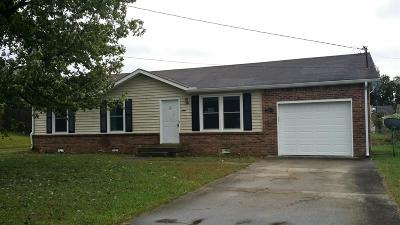 Clarksville Single Family Home For Sale: 266 Northwood Ter