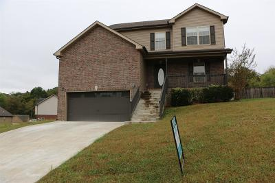 Clarksville Single Family Home For Sale: 3468 Cayuse Way
