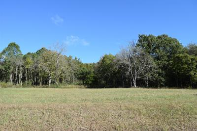 Thompsons Station  Residential Lots & Land For Sale: 4700 Wild Turkey (Pvt) Ln