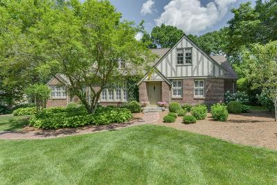 Belle Meade Single Family Home For Sale: 326 Walnut Drive