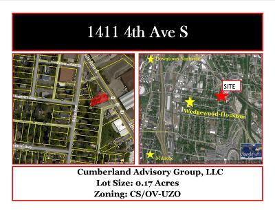 Nashville Residential Lots & Land For Sale: 1411 4th Ave S