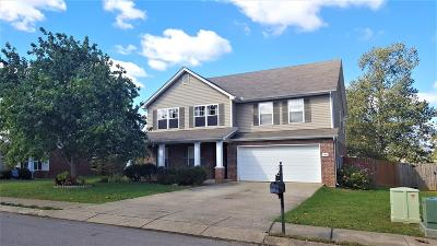 Mount Juliet Single Family Home Under Contract - Showing: 2863 Park Knoll Dr