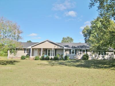 Shelbyville Single Family Home For Sale: 1472 W Highway 64