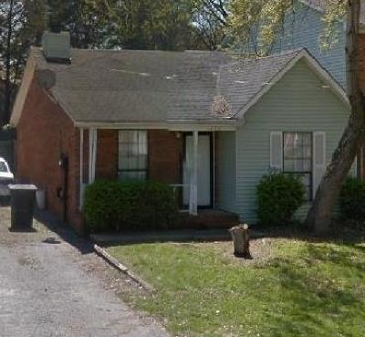 Murfreesboro TN Single Family Home Under Contract - Showing: $109,900