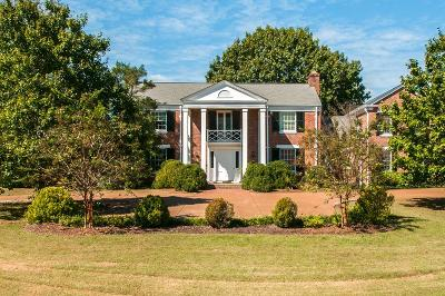 Nashville Single Family Home Under Contract - Showing: 6129 Hillsboro Pike