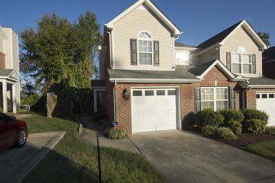 Mount Juliet Condo/Townhouse For Sale: 5829 St Charles Pl