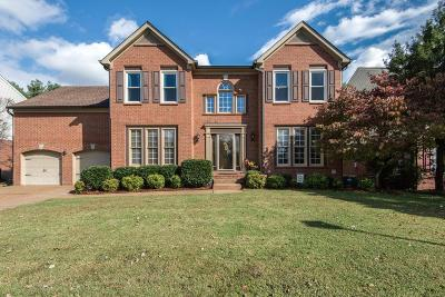 Franklin Single Family Home Under Contract - Showing: 1240 Buckingham Cir