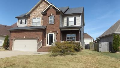 Clarksville Single Family Home For Sale: 3545 Southwood Dr
