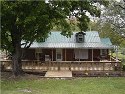 Shelbyville Single Family Home For Sale: 828 Blue Stocking Hllw Rd