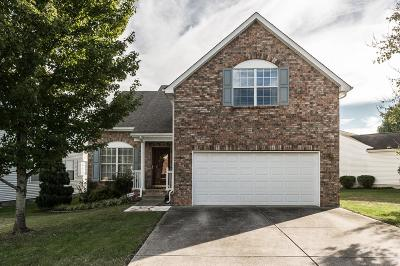Hendersonville Single Family Home Under Contract - Showing: 126 Sumner Meadows Ln