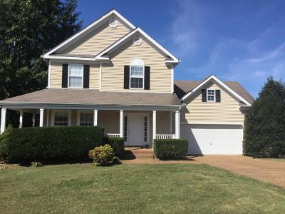 Thompsons Station  Rental For Rent: 2658 Hansford Drive