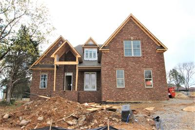 Wilson County Single Family Home For Sale: 133 Carriage Lane #133