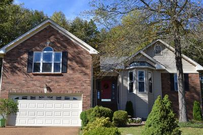 Mount Juliet Single Family Home Under Contract - Showing: 2018 Alice Springs Ct