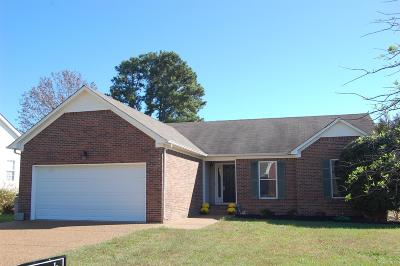 Spring Hill  Single Family Home For Sale: 2927 Augusta Trace Dr