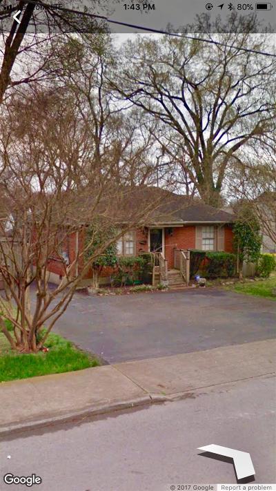 Nashville  Single Family Home For Sale: 1008 Seymour Ave
