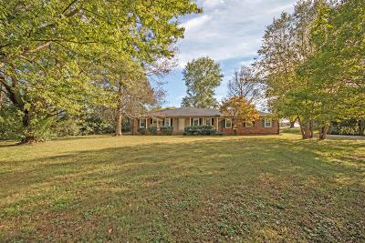 Gallatin Single Family Home For Sale: 508 Coles Ferry Rd