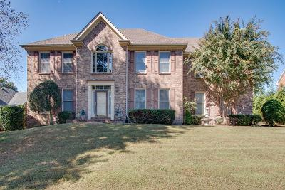 Old Hickory Single Family Home For Sale: 1633 Rachel Way