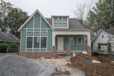 Nashville Single Family Home For Sale: 1706 Long Ave