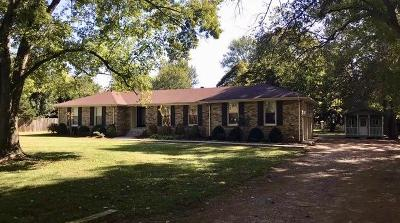 Franklin Single Family Home Under Contract - Showing: 107 Parsons Pl