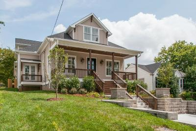 Nashville Single Family Home For Sale: 142 39th Ave N