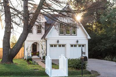 Nashville Single Family Home For Sale: 1706 Hillmont Dr