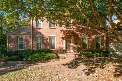 Nashville Single Family Home For Sale: 604 Linden Sq