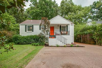 Nashville Single Family Home For Sale: 3819 Dartmouth Ave