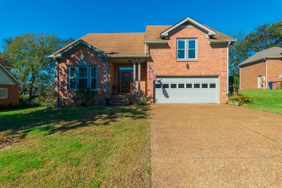 Goodlettsville Single Family Home For Sale: 820 Rachel Dr
