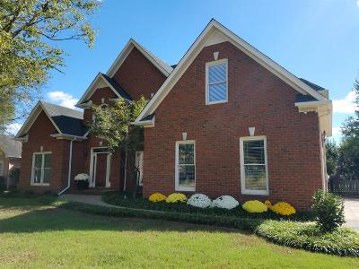 Rutherford County Single Family Home For Sale: 2310 Woodridge Trail