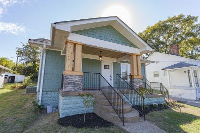 Nashville Single Family Home For Sale: 1110 Douglas Ave