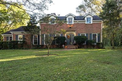 Brentwood Single Family Home Under Contract - Showing: 1223 Carl Seyfert Memorial Dr