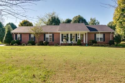 Gallatin Single Family Home For Sale: 1009 Lewis Jones Blvd