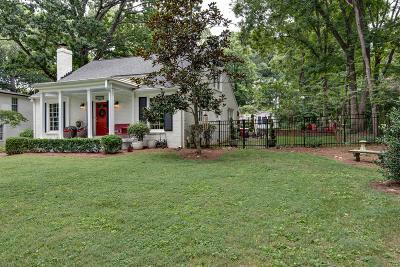 Nashville Single Family Home For Sale: 510 Lynnwood Blvd