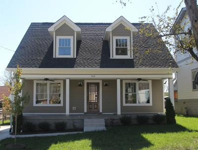 Nashville  Single Family Home For Sale: 960 Thomas Ave
