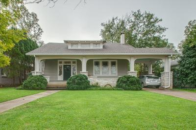 Nashville  Single Family Home For Sale: 3717 Princeton Ave