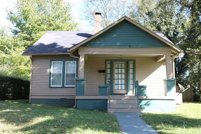 Nashville Single Family Home For Sale: 1103 N 5th St