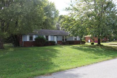 Clarksville TN Single Family Home For Sale: $140,000