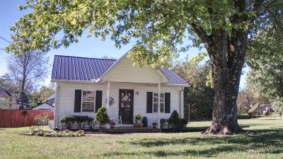 Watertown TN Single Family Home For Sale: $117,500