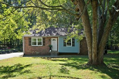 Clarksville TN Single Family Home For Sale: $91,500