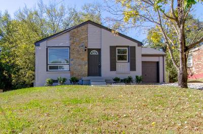 Nashville Single Family Home For Sale: 1446 Snell Blvd