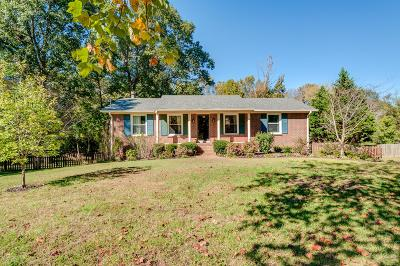 Brentwood TN Single Family Home For Sale: $430,000