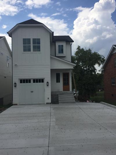 East Nashville Single Family Home For Sale: 2416 Chapman